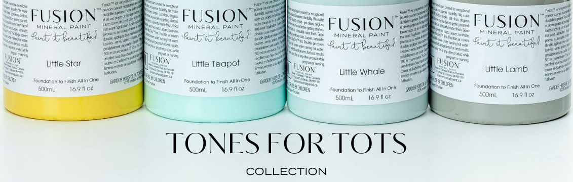 TONES FOR TOTS COLLECTION banner